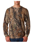 Code V Adult REALTREE Camouflage Long-sleeve T-Shirt
