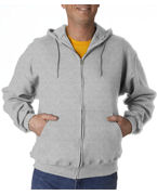 Jerzees Adult SUPER SWEATS� Full-Zip Hooded Fleece