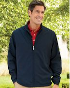 5378 Ashworth Men's Full-Zip Lined Wind Jacket