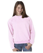 Jerzees Youth Mid-Weight Crewneck Sweatshirt