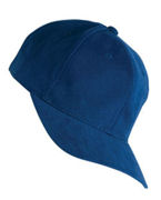 6363V Yupoong Brushed Cotton Twill Mid-Profile Cap