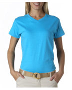 Anvil Ladies' V-Neck Tee