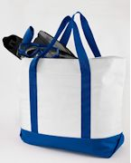 7006 Liberty Bags Bay View Giant Zippered Boat Tote