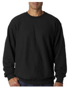 Weatherproof Adult Cross Weave� Crewneck Sweatshirt