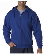 Jerzees Adult Hooded Full-Zip Sweatshirt