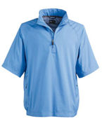 A67 adidas Golf Men's ClimaProof� Short-Sleeve Wind Shirt