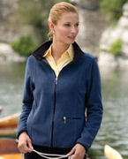 CH900W Chestnut Hill Ladies' Microfleece Full-Zip Jacket